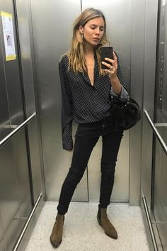 22 best smart casual work outfit women images in 2018 Boho Work Outfit, Casual Work Outfits, Business Casual Outfits, Winter Outfits For Work, Mode Outfits, Work Attire, Work Casual, Pub Outfit, Casual Work Clothes