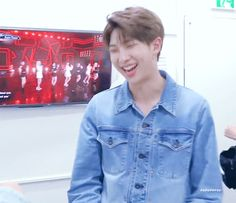 Look at this sweet man Rapper, Bangtan Bomb, Kim Namjoon, Mnet Asian Music Awards, Live In The Now, Bts Group, Bts Pictures, Jimin, Bts Taehyung