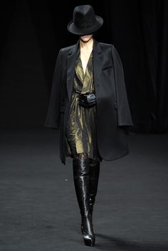 See all the Collection photos from Af Vandevorst Autumn/Winter 2012 Ready-To-Wear now on British Vogue Think Tattoo, Costume, Fashion Show, Fashion Design, Modern Luxury, Karl Lagerfeld, Ready To Wear, Autumn Fashion, Fall Winter