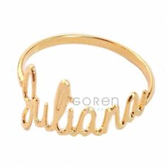 Tattoos, Bracelets, Gold, Jewelry, Personalized Rings, Name Letters, Gold Rings, Jewels, Bangles