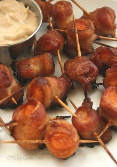 Bacon Wrapped Sweet Potatoes