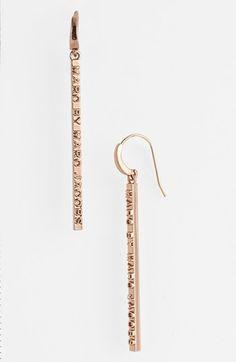 letterpress earrings