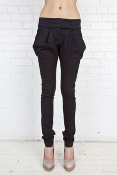 Embroider cross pant by Preen