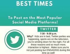 As per trends & studies , this is the best time to post on . What's the best time according to you? Best Time To Post, Most Popular Social Media, Advertising, Ads, Social Media Marketing, Trends, Shit Happens, Twitter, Beauty Trends