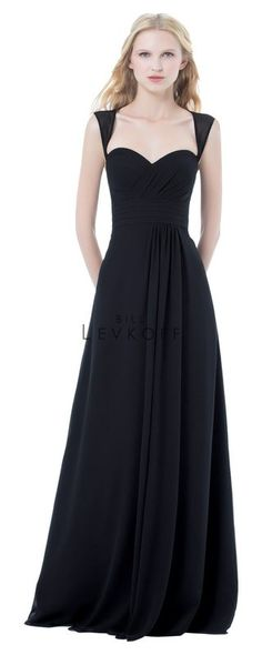 Bill Levkoff style 485, black, size 10