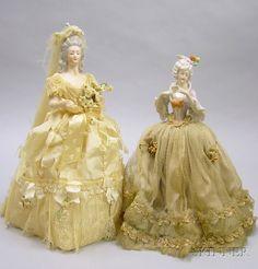 Two Porcelain Half Dolls | Sale Number 2419, Lot Number 1163 | Skinner Auctioneers