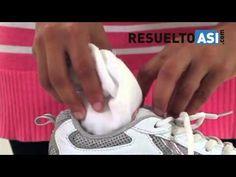 Cómo eliminar el mal olor en los zapatos. - YouTube