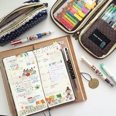 I need to get all my journaling stuff together like this