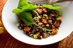 Balsamic Roasted Winter Squash with Wild Rice