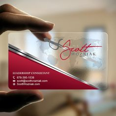 Distinctive business card for leadership network by Dhir™