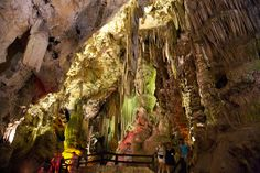 The cave's auditorium with - www.gibraltar-rock-tours.com Auditorium, Moorish, Homeland, Castle, Tours, Rock, City, Painting, Skirt