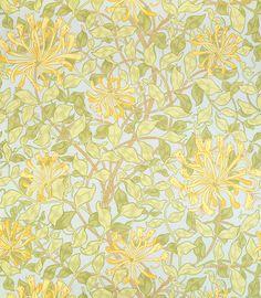 Honeysuckle wallpaper, by William Morris | memoryprints.com | High quality art prints