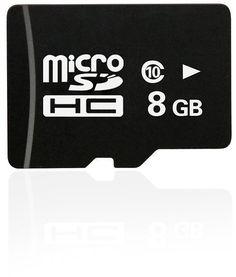 DBPOWER 1080P Dual-lens (8GB C-10 TF-Card)