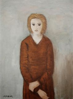 Stanley Cosgrove Portrait of anne Estimate: - CAD Dimensions: 16 X 12 in X cm) Medium: oil on board Signed Clarence Gagnon, Honore Daumier, Morel, Pierre Bonnard, Old Master, Pablo Picasso, Luigi, Art History, Old Things