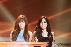 #Tiffany #Miyoung #Taeyeon #leader #SNSD #Taeny #live #cute #smile