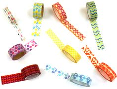 Check out the awesome deals today on Peachy Cheap. Nine rolls of washi tape for $7.99 TODAY!