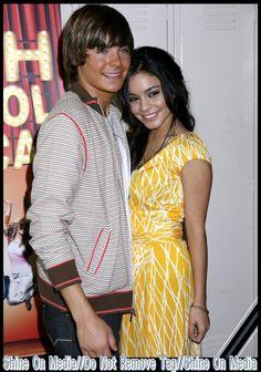 Zac Efron and Vanessa Hudgens High School Musical Press Event 5/4/06