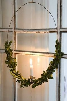 Eucalyptus Christmas Wreath from FrySauceandGrits.com