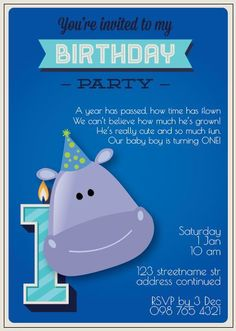 BFY_016 Our Baby, Baby Boy, Years Passed, Turning One, Baby First Birthday, Youre Invited, First Birthdays, Rsvp, Monkey
