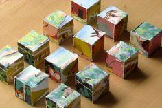Storybook puzzle blocks