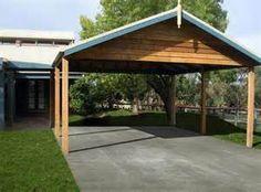 Wooden carport building | Helpful tips how to build a wooden carport ...