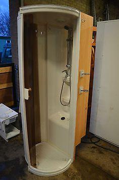 Caravan Shower Unit Cubicle - Ideal for Camper Conversion or Motorhome Off Road Camper, Bus Camper, Rv Campers, Camper Trailers, Van Living, Tiny House Living, Caravan Parts, Camper Bathroom, Camper Van Life