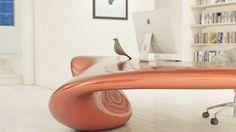 VOLNA : Floor-Mounted Table | NUVIST - Arch2O.com