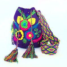 Purple Susu Hand Woven Bag