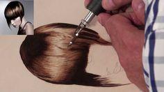 Pirograbado de pelo liso 2 de 2