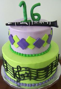 Clarinet Cake- SOMEONE PLEASE MAKE THIS FOR ME BUT A FLUTE!!!