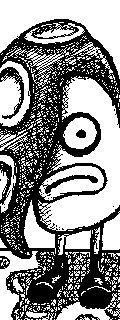 One of the Octo troopers from Splatoon  Tags: Nintendo Miiverse 3DS WiiU Splatoon