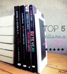 [TOP 5] Leituras de 2014 (Aline)