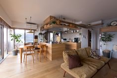This Creative Japanese Apartment is a Space-Savvy Cat Haven! This Creative Japanese Apartment is a Space-Savvy Cat Haven! Japanese Living Room Design Ideas, Japanese Living Rooms, Japanese Interior Design, Japanese House, Interior Design Kitchen, Living Room Designs, Japanese Home Decor, Japanese Kitchen, Kitchen Designs