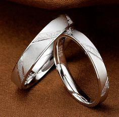 Fashion Men Women Jane Love 925 Sterling Silver Couple Rings Lovers Wedding Band His and Her Promise Ring