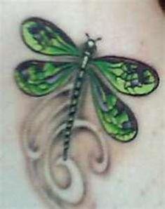 Small Pretty Dragonfly Tattoos