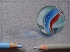 Realistic Drawing Techniques in Colored Pencil