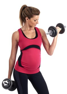 Ultimate Maternity Sportswear TopSupportive maternity workout top, combining maximum style with ultimate pregnancy exercise performance