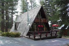 The MacGyver's Aframe on Wildwood off Old County Road in Tahoe :))