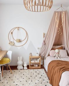 How pretty is this little girl's room by Marina Cabero 👈🏻😍 Featuring the Miffy lamp, available online from our store 💫 . Source by istome_store Baby Boy Rooms, Little Girl Rooms, Miffy Lampe, Scandinavian Kids Rooms, Scandinavian Design, Deco Kids, Childrens Room Decor, Kids Room Design, Girls Bedroom
