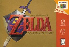 The Legend of Zelda: Ocarina of Time. Often considered one of the best games of all time, in the best series of all time, on one of the most classic consoles of all time. Not my personal favorite, but still great. The Legend Of Zelda, 90s Video Games, Video Game Music, Music Videos, Hack And Slash, Wind Waker, Ocarina Of Time, Ocarina Tabs, Ocarina Music