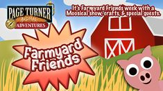 When you sign up for our Summer Reading with Beanstack, you get exclusive content from Page Turner Animal Adventures. Week 1 is Farmyard Friends Week! Library Events, County Library, Page Turner, Farm Yard, Special Guest, Sign, Content, Adventure, Reading