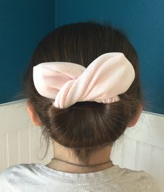 Excited to share the latest addition to my #etsy shop: The Bun And Done, hair accessory, bun maker, hair style, Pink Shimmer https://etsy.me/2JtKIzD #accessories #hair #pink #hairaccessory #bun #beauty #cute #updo #fabric