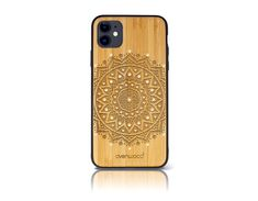 """Mandala Swarovski - Limited Edition"" iPhone 11 Holz-Kunststoff Hülle  CHF189.00 Mandala Design, Smartphone, Iphone 11, Wordpress, Phone Cases, Wood Engraving, Alarm Clock, Bamboo, Nice Asses"