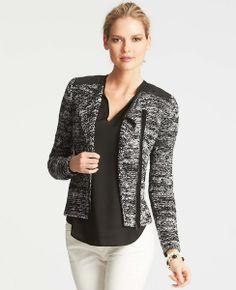 Tall Collegiate Sweater Jacket