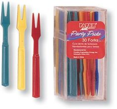 Assorted Color Cocktail Fork Case Pack 5 Assorted Color Cocktail Fork Case Pack 5 by DDI. $40.50. This product may be prohibited inbound shipment to your destination.. Please refer to SKU# ATR25827552 when you inquire.. Brand Name: DDI Mfg#: 1227481. Shipping Weight: 1.00 lbs. Picture may wrongfully represent. Please read title and description thoroughly.. Party Appetizer Forks feature an assortment of multicolored food forks. These festive appetizer forks can be used for appeti...