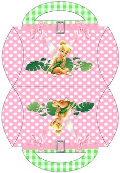 """Kit Digital Aniversário """"Tinker Bell"""" para Imprimir - CALLY'S DESIGN-Kits Personalizados Gratuitos"""