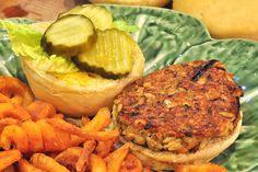 Vegan Brown Rice Burgers. I love this blog!!