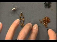 Video: Netting using Seed Beads with Leslie Rogalski  #Seed #Bead #Tutorials