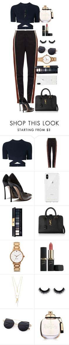 """Sin título #780"" by fernanda-hernandezz ❤ liked on Polyvore featuring Alexander Wang, Wales Bonner, Rebecca Minkoff, Yves Saint Laurent, Kate Spade, L'Oréal Paris, Stella & Dot and Coach"