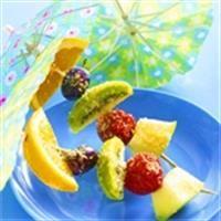 Traktatie - Zoete knabbelspiesjes - Zonnigfruit